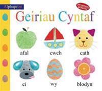 Cyfres Alphaprint: Geiriau Cyntaf/First Words
