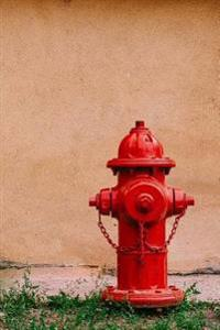 The Red Fire Hydrant Journal: 150 Page Lined Notebook/Diary