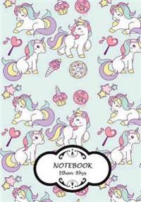 Notebook: Cutie Unicorn (Vol.2): Pocket Notebook Journal Diary, 110 Pages, 7 X 10 (Notebook Lined, Blank No Lined)