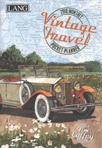 Vintage Travel 2018 Monthly Pocket Planner