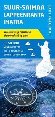 Suur-Saimaa-Lappeenranta-Imatra veneilykartta 1:50 000