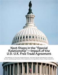 Next Steps in the Special Relationship-Impact of the U.S.-U.K. Free Trade Agreement