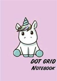 Dot Grid Notebook: Cutie Unicorn (Vol.3): 110 Dot Grid Pages, 7 X 10