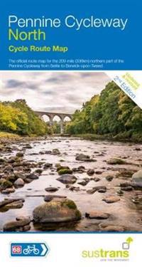 Pennine cycleway north - sustrans cycle map