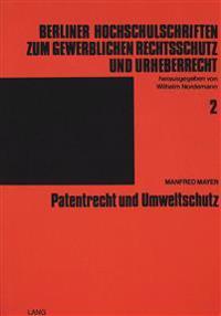 Patentrecht Und Umweltschutz