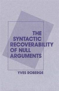 Syntactic Recoverability of Null Arguments