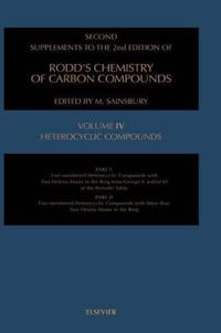 Second Supplements to the 2nd Edition of Rodd's Chemistry of Carbon Compounds