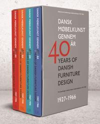 Dansk møbelkunst gennem 40 aar - 1927-1966