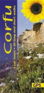 Corfu: 4 Car Tours, 60 Long and Short Walks