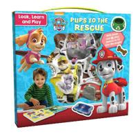 Nickelodeon PAW Patrol Look, Learn and Play: Pups to the Rescue