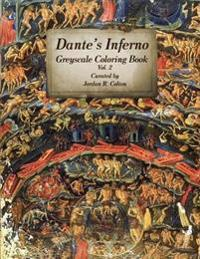 Dante's Inferno: Purgatorio & Paradiso Greyscale Coloring Book