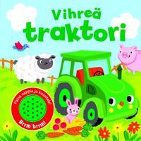 Vihreä traktori