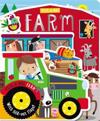 Board Book Peek-A-Boo Farm
