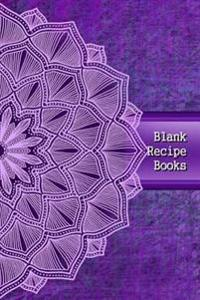 Blank Recipe Books: Recipe Books with Blank Pages Professionally Designed, Recipe Journal, Blank Cookbook, Cooking Gifts 100 Pages (Volume