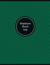Employee Hours Log (Logbook, Journal - 126 Pages, 8.5 X 11 Inches): Employee Hours Logbook (Professional Cover, Large)