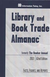 Library and Book Trade Almanac 2017