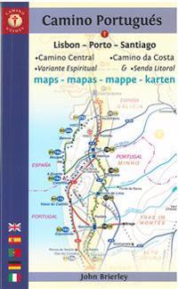 Camino Portugues Maps - Sixth Edition