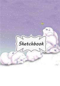 Sketchbook: Polar Bear: 100+ Pages of 7 X 10 Blank Paper for Drawing, Doodling or Sketching (Sketchbooks)