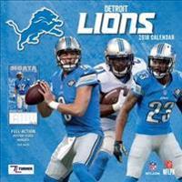 Detroit Lions 2018 Calendar