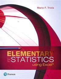 Elementary Statistics Using Excel Plus New Mystatlab with Pearson Etext -- Title-Specific Access Card Package