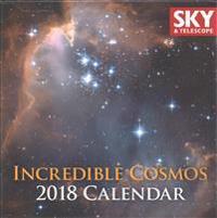 Incredible Cosmos 2018 Calendar