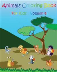 Animals Coloring Book for Kids: Animals Coloring Book for Kids