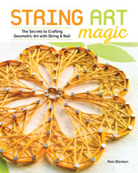 String Art Magic: Secrets to Crafting Geometric Art with String and Nail
