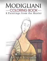 Modigliani Coloring Book: 8 Paintings from the Master
