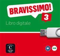 Bravissimo 3. Libro digitale USB