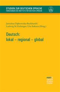 Deutsch: lokal - regional - global