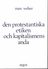 Den protestantiska etiken och kapitalismens anda