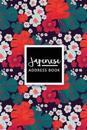 Japenese Address Book: Japanese Address Book - Pocket Size (6x9 Inches) 1