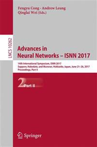 Advances in Neural Networks - Isnn 2017