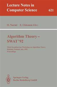 Algorithm Theory - SWAT '92