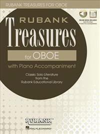 RUBANK TREASURES (VOXMAN) FOR OBOE BOOK/MEDIA ONLINE