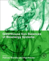 Greenhouse Gas Balances of Bioenergy Systems
