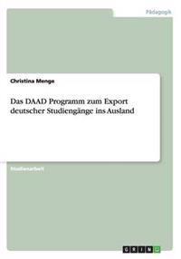 Das Daad Programm Zum Export Deutscher Studiengange Ins Ausland