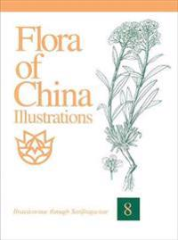 Flora of China Illustrations, Volume 8: Brassicaceae Through Saxifragaceae