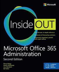 Microsoft office 365 administration inside out (includes current book servi