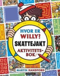 Hvor er Willy? Skattejakt. Aktivitetsbok