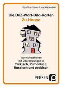 Die DaZ-Wort-Bild-Karten: Zu Hause