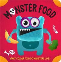 Monster Food Finger Puppet Book