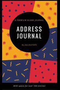 Blank Address Journal