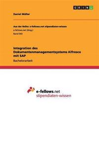 Integration Des Dokumentenmanagementsystems Alfresco Mit SAP