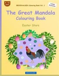 Brockhausen Colouring Book Vol. 1 - The Great Mandala Colouring Book: Easter Stars