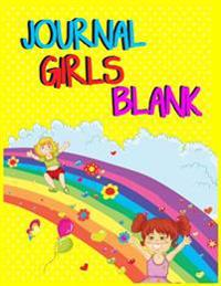 Journal Girls Blank: Journal Notebook Lined Pages