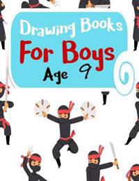 Drawing Books for Boys Age 9: Graph Paper Notebook, 8.5 X 11, 120 Grid Lined Pages (1/4 Inch Squares)