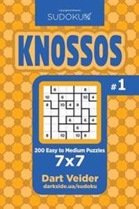 Sudoku Knossos - 200 Easy to Medium Puzzles 7x7 (Volume 1)