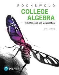 Mymathlab with Pearson Etext -- Standalone Access Card -- For College Algebra with Modeling & Visualization