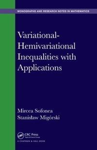 Variational-Hemivariational Inequalities with Applications